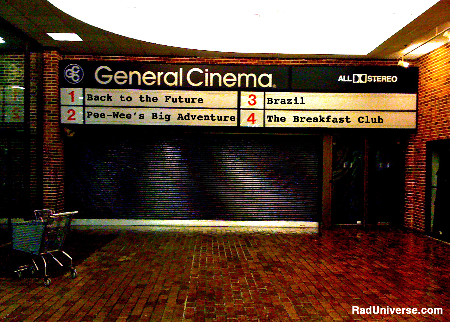 General Cinema Rad Universe